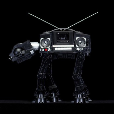 AT-AT Boombox Combines Two Great 80′s Things