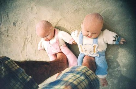 Baby Slippers are Really Creepy…really really creepy