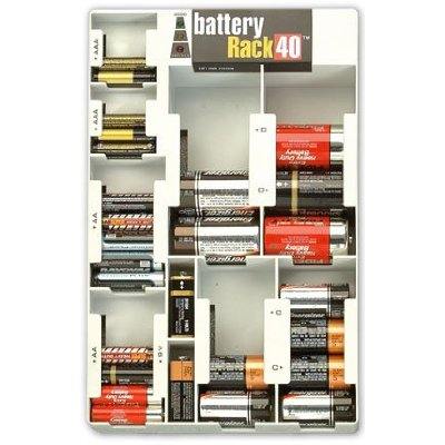 Battery Rack Can Hold a Mere 46 Batteries (Stock Up Now!)