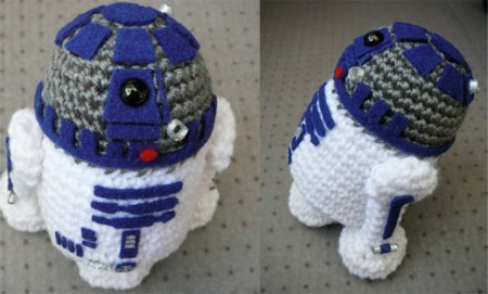 Crochet R2D2 is Crochedorable