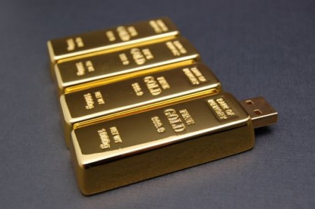 Gold Bars USB Flash Drive