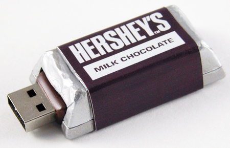 Drive Down the Hershey Highway with Hershey's USB Drives