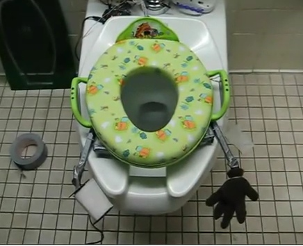 Bizarre Interactive Toilet Looks Downright Seussical