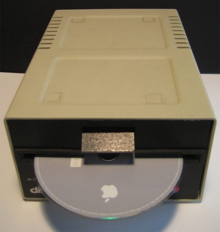 Apple II Disk Drive with a Mac Mini Inside It