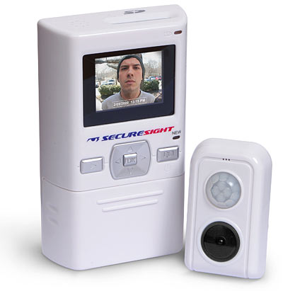 Peephole Camera and DVR for Home Security