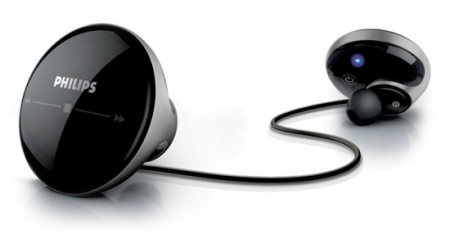 The Tiny Philips Tapster Bluetooth Stereo Headset