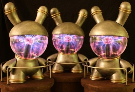Plasma Globe Head Dunny Toy
