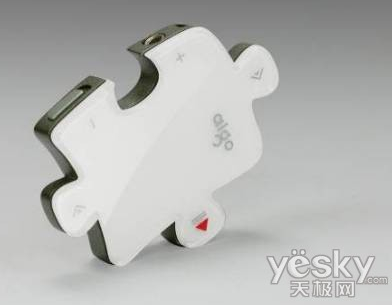 MP3 Player Shaped Like a Puzzle Piece