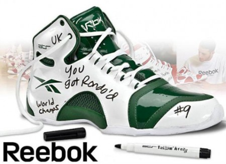 Reebok Talkin' Krazy Dry Erase Sneakers are Great for Trash Talkin', Test Cheatin'