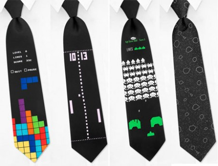 Retro Video Gaming Ties