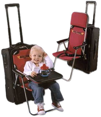 Ride-on Carry-on Lets Your Kids Ride on Your Luggage -Craziest Gadgets