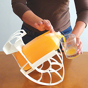 Roll n' Pour is a Jug Pouring Assistant