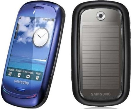 Samsung Blue Earth: An Eco-Friendly Phone