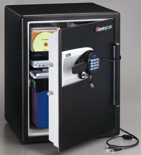 SentrySafe USB Waterproof and Fireproof Safe