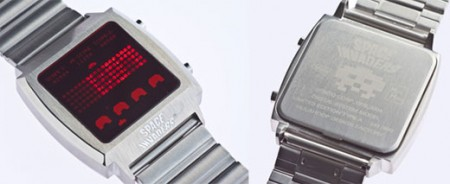 space invaders watch 450x184 Space Invaders Watch is One Cool Watch
