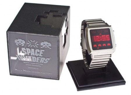 space invaders watch1 450x328 Space Invaders Watch is One Cool Watch