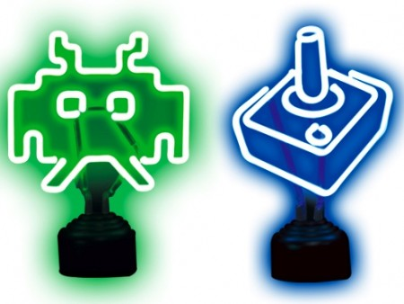 Atari and Space Invaders USB Neon Lights