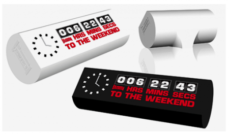 weekend clock 450x264 Countdown to the Weekend Clock