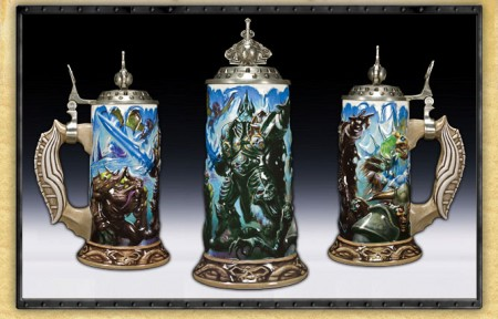 Get Drunk on Something More than Just Exerience Points and Power with World of Warcraft Steins