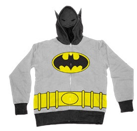 Old School Batman Hoodie with Mask