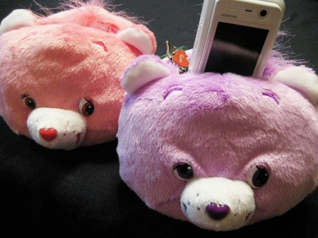 care bear head phone stands 450x337 Disembodied Care Bears Heads Phone Stands