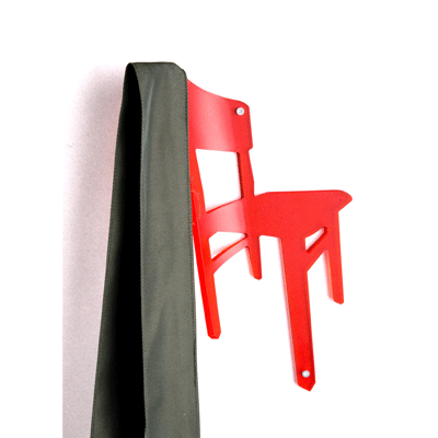 You're Allowed to Throw Your Clothes on This Chair