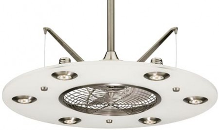 Cumulos Ceiling Fan Looks Flying Saucer-like «Craziest Gadgets