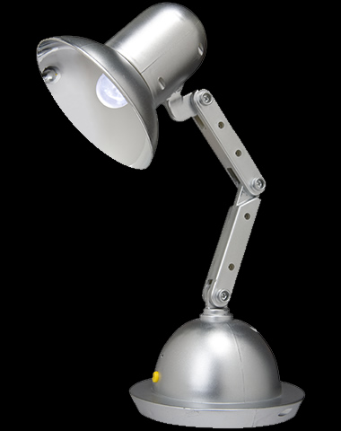Animated Desk Lamp Dances on Your Desk