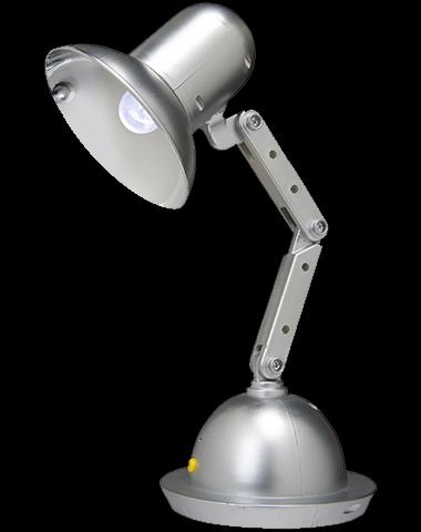 dancing desk lamp Pinboard