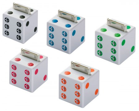 Dice iPod Speakers from Buffalo