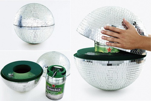 Party Time, Excellent: Disco Ball Keg Holder