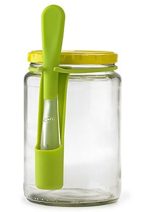 Fridge Fork Stays in your Fridge, Hangs on Jars