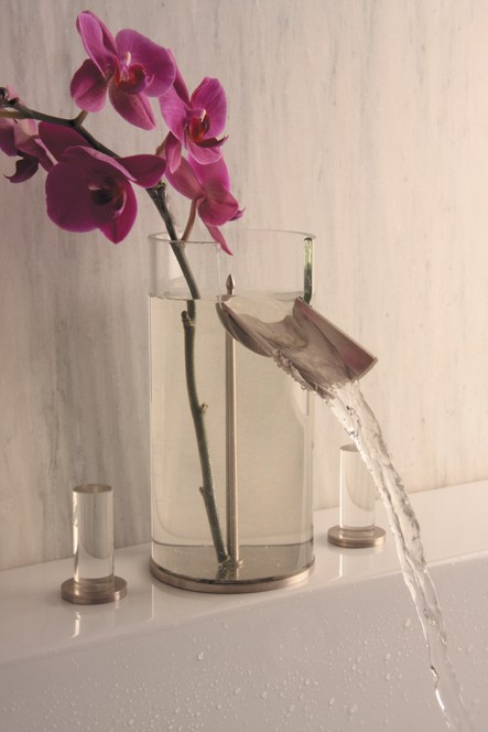 A Faucet That's Also a Vase