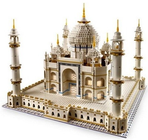 lego taj mahal Taj Mahal LEGO Set is Largest Ever at 5922 Pieces