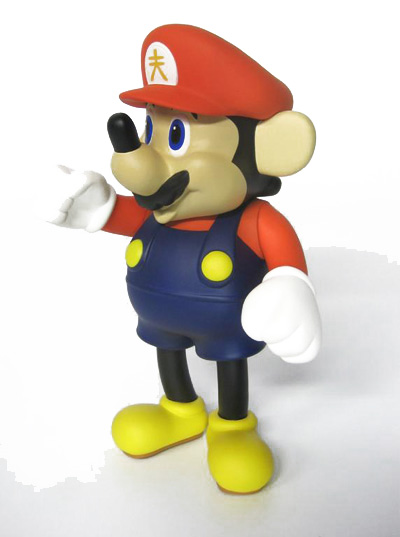 Akashi is Mario Mashed Up with Mickey Mouse
