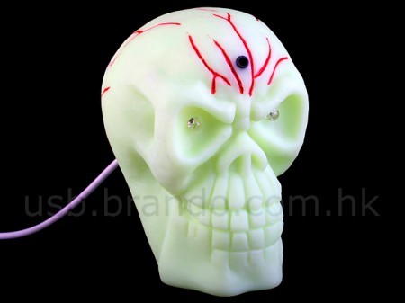 USB Motion Sensing Skull