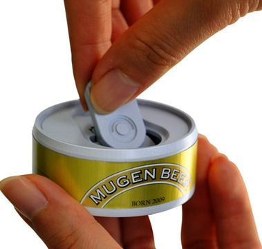 Mugen Endless Can Beer Lets You Open Beer Over and Over Again