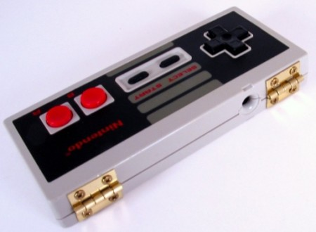 Vintage NES Controller Turned Storage Box