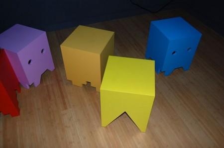 Pac-Man Stools