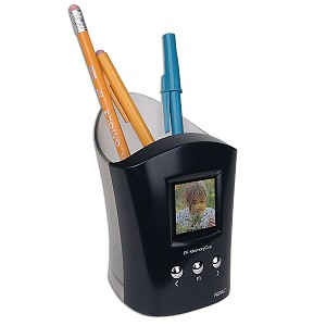 Digital Photo Frame and Pencil Cup