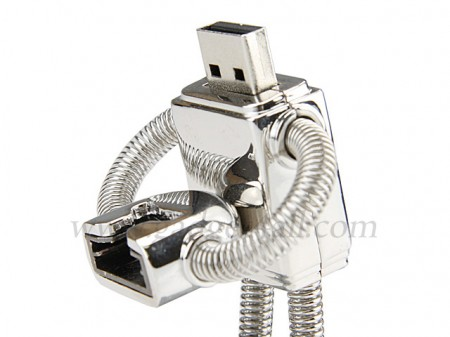 robot usb flash drive 450x337 Removable Head Robot USB Flash Drive