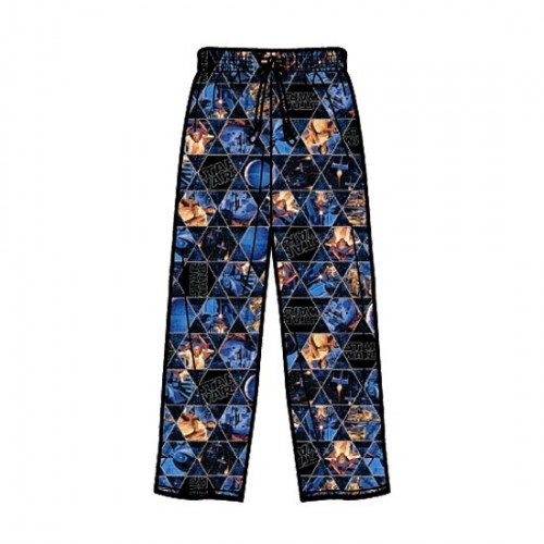 Hot Geek Fashion: Star Wars Men's Sleepwear Pants