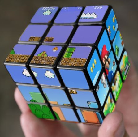 Super Mario Rubik's Cube Looks Really Cool, Difficult