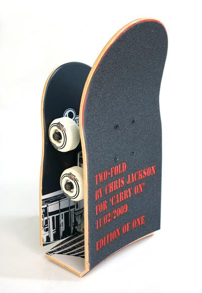 Dual Folding Skateboard