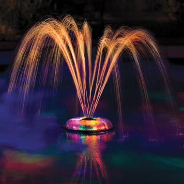 Underwater Lightshow Fountain Lets You Create Your Own Backyard Bellagio