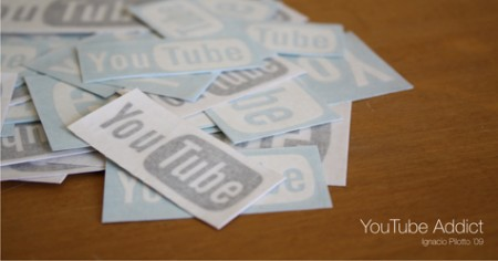 youtube addict stickers 450x236 Pinboard