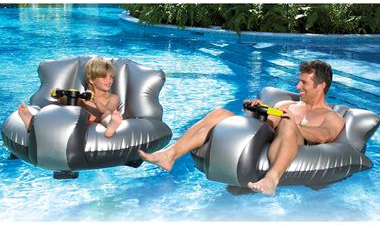 bumper boat2 Inflatable Motorized Bumper Boats for your Pool
