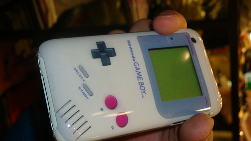 Gameboy iPhone Case is Retro Cool