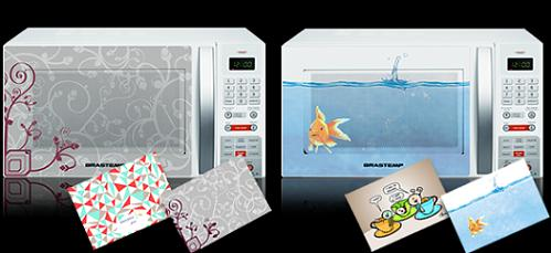 Stickers Make Everything Better, Even Microwaves!