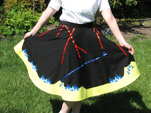 Missile Command Skirt